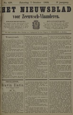 Nieuwsblad voor Zeeuwsch-Vlaanderen 1899-10-07