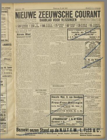 Nieuwe Zeeuwsche Courant 1921-07-09