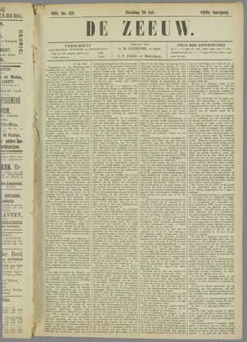 De Zeeuw. Christelijk-historisch nieuwsblad voor Zeeland 1891-07-28