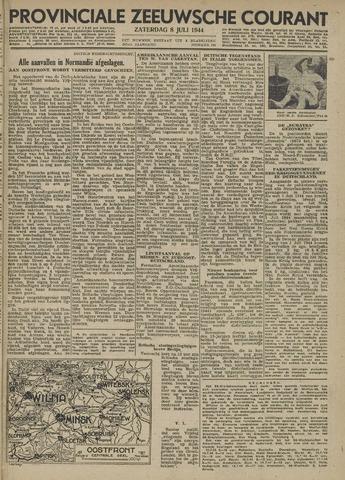 Provinciale Zeeuwse Courant 1944-07-08