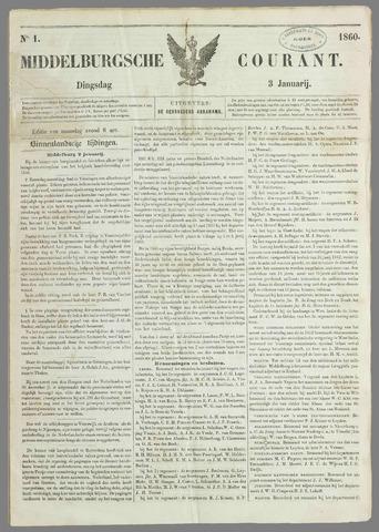 Middelburgsche Courant 1860