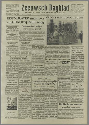 Zeeuwsch Dagblad 1958-09-22