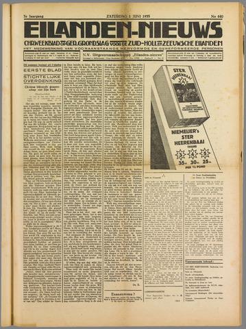 Eilanden-nieuws. Christelijk streekblad op gereformeerde grondslag 1935-06-01
