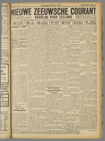 Nieuwe Zeeuwsche Courant 1923-03-29
