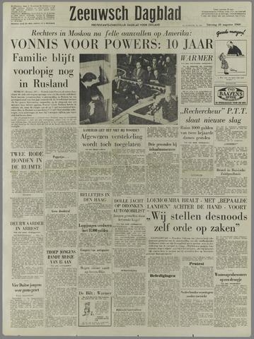 Zeeuwsch Dagblad 1960-08-20