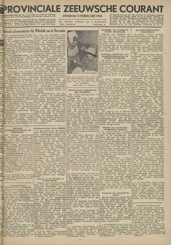Provinciale Zeeuwse Courant 1944-02-08