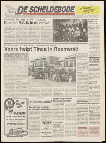 Scheldebode 1991-01-09