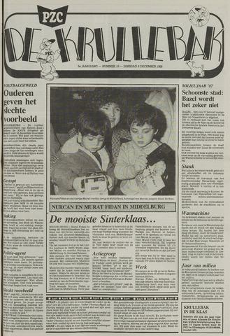 Provinciale Zeeuwse Courant katern Krullenbak (1981-1999) 1986-12-09