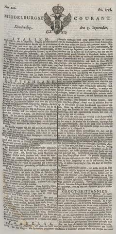 Middelburgsche Courant 1778-09-03