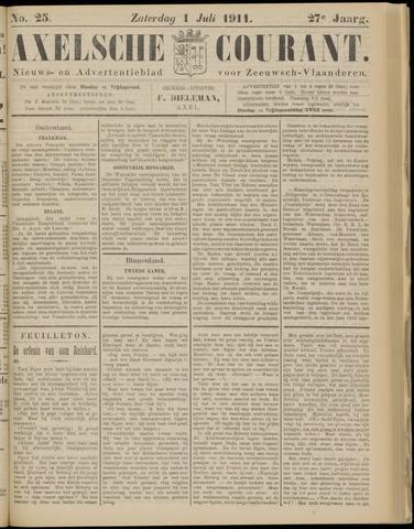Axelsche Courant 1911-07-01