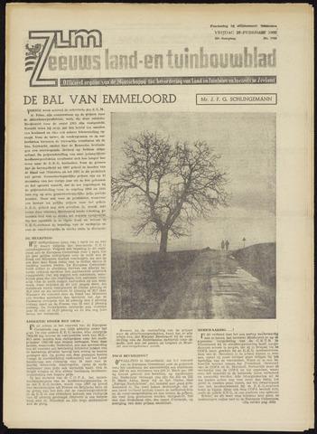 Zeeuwsch landbouwblad ... ZLM land- en tuinbouwblad 1965-02-26