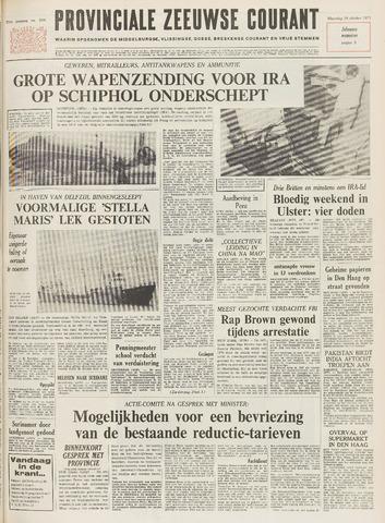 Provinciale Zeeuwse Courant 1971-10-18
