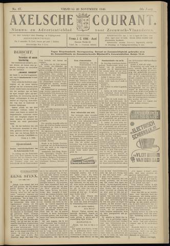 Axelsche Courant 1940-11-29
