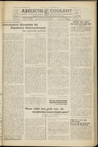 Axelsche Courant 1950-11-18