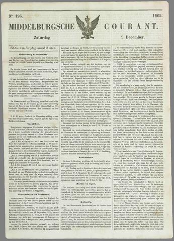 Middelburgsche Courant 1865-12-09