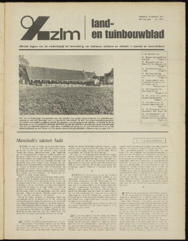 Zeeuwsch landbouwblad ... ZLM land- en tuinbouwblad 1971-03-19
