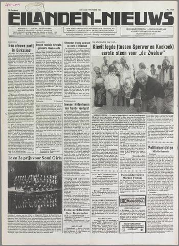 Eilanden-nieuws. Christelijk streekblad op gereformeerde grondslag 1985-10-08