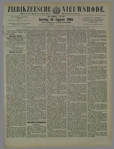 Zierikzeesche Nieuwsbode 1905-08-19