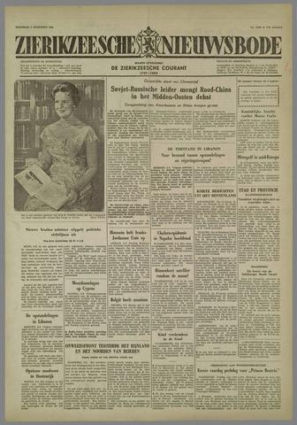 Zierikzeesche Nieuwsbode 1958-08-04