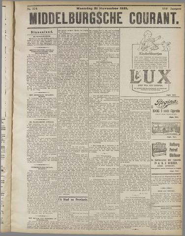 Middelburgsche Courant 1921-11-21