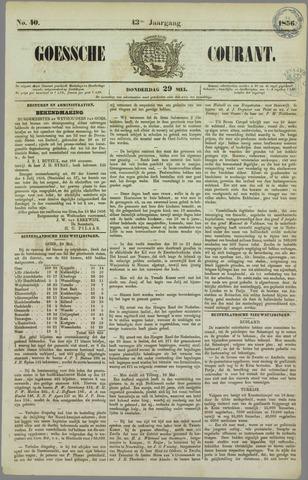 Goessche Courant 1856-05-29
