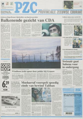 Provinciale Zeeuwse Courant 2001-10-02