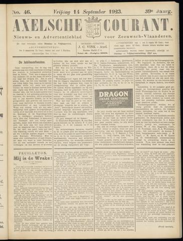 Axelsche Courant 1923-09-14