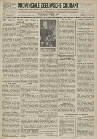Provinciale Zeeuwse Courant 1942-02-05