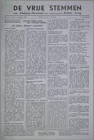 Vrije Stemmen van Schouwen-Duiveland, tevens mededeelingenblad Militair Gezag 1945-09-11