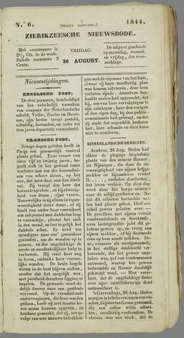 Zierikzeesche Nieuwsbode 1844-08-30