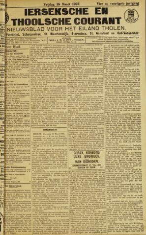Ierseksche en Thoolsche Courant 1927-03-18