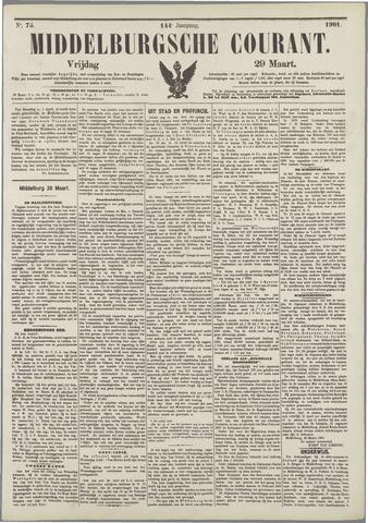 Middelburgsche Courant 1901-03-29