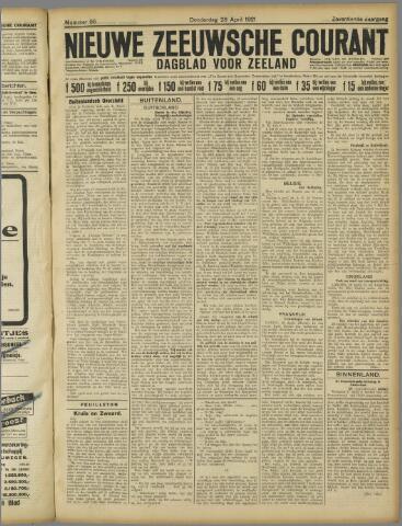 Nieuwe Zeeuwsche Courant 1921-04-28