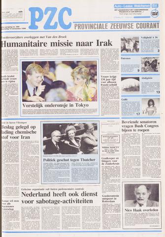 Provinciale Zeeuwse Courant 1990-11-14