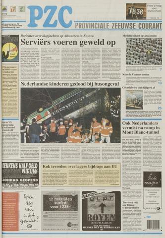 Provinciale Zeeuwse Courant 1999-03-27