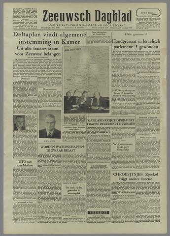 Zeeuwsch Dagblad 1957-10-30
