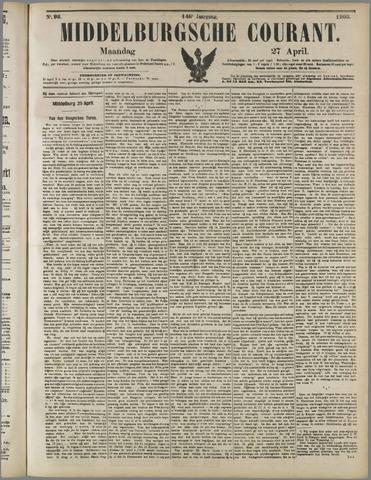 Middelburgsche Courant 1903-04-27