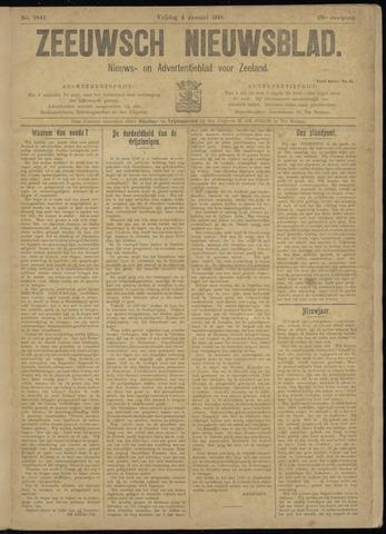 Ter Neuzensch Volksblad. Vrijzinnig nieuws- en advertentieblad voor Zeeuwsch- Vlaanderen / Zeeuwsch Nieuwsblad. Nieuws- en advertentieblad voor Zeeland 1918-01-04