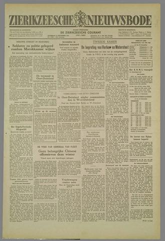 Zierikzeesche Nieuwsbode 1952-12-13