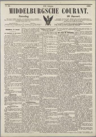Middelburgsche Courant 1901-01-26