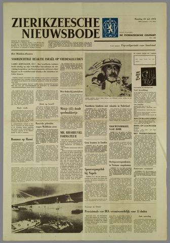 Zierikzeesche Nieuwsbode 1972-07-24