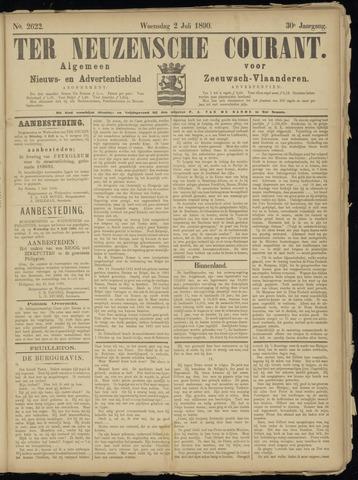 Ter Neuzensche Courant. Algemeen Nieuws- en Advertentieblad voor Zeeuwsch-Vlaanderen / Neuzensche Courant ... (idem) / (Algemeen) nieuws en advertentieblad voor Zeeuwsch-Vlaanderen 1890-07-02