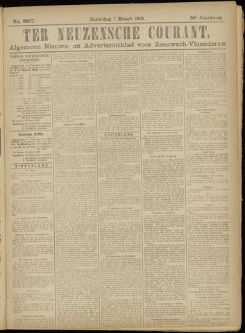 Ter Neuzensche Courant. Algemeen Nieuws- en Advertentieblad voor Zeeuwsch-Vlaanderen / Neuzensche Courant ... (idem) / (Algemeen) nieuws en advertentieblad voor Zeeuwsch-Vlaanderen 1919-03-01