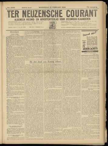 Ter Neuzensche Courant. Algemeen Nieuws- en Advertentieblad voor Zeeuwsch-Vlaanderen / Neuzensche Courant ... (idem) / (Algemeen) nieuws en advertentieblad voor Zeeuwsch-Vlaanderen 1934-02-21