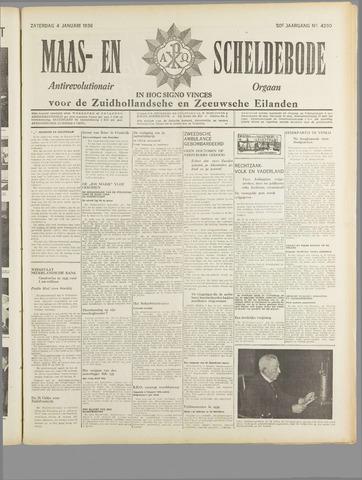 Maas- en Scheldebode 1936