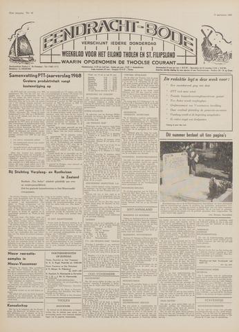 Eendrachtbode (1945-heden)/Mededeelingenblad voor het eiland Tholen (1944/45) 1969-09-11