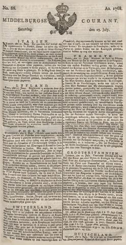 Middelburgsche Courant 1768-07-23