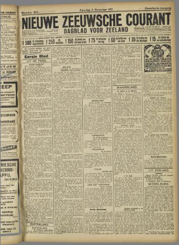 Nieuwe Zeeuwsche Courant 1921-11-05
