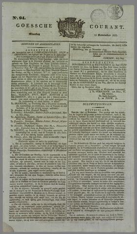Goessche Courant 1833-11-25