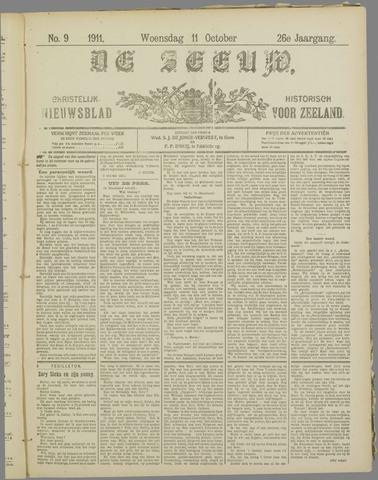 De Zeeuw. Christelijk-historisch nieuwsblad voor Zeeland 1911-10-11